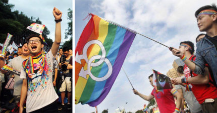 台灣宣布禁同婚違憲,日本網友超羨慕:「台灣是先進國家,跟中國差多了!」