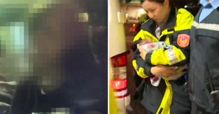 超扯!23歲女撿到自己生下的男嬰,不知孩子爸是誰...