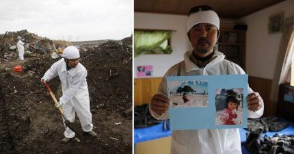 311福島核災6年後父母「冒著輻射威脅」還在找尋失蹤孩子。他:「看到她揮手就覺得心痛」