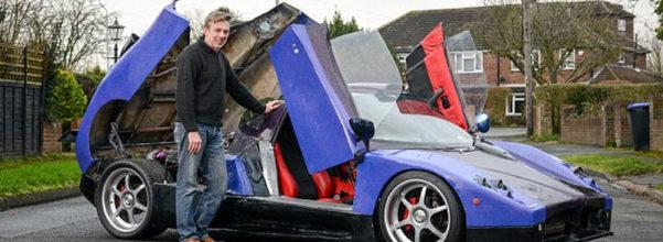 神人老爸原本只是想DIY咖啡桌 一不小心就做出4700萬雙渦輪超級跑車!