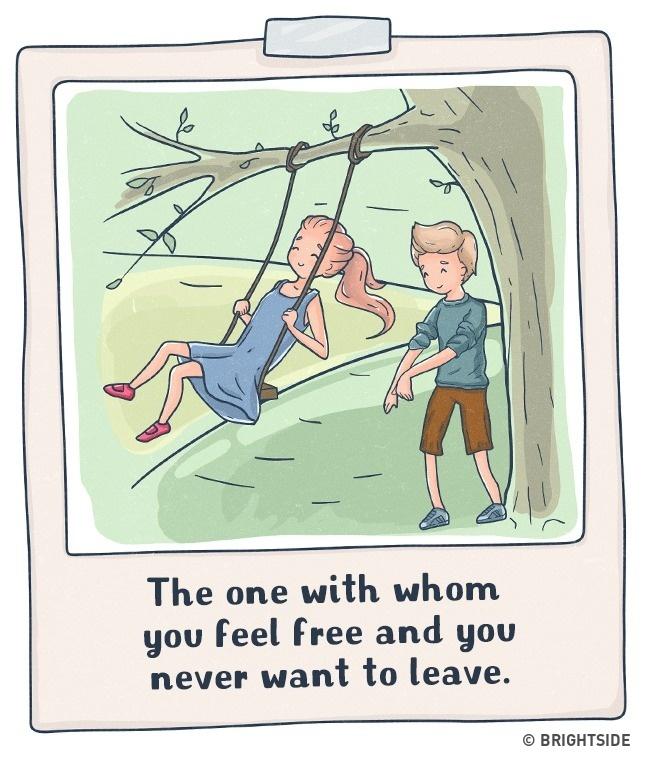 14張「看完才真正懂愛」的如何分辯真愛小漫畫。#13畫框照片讓人噴淚!