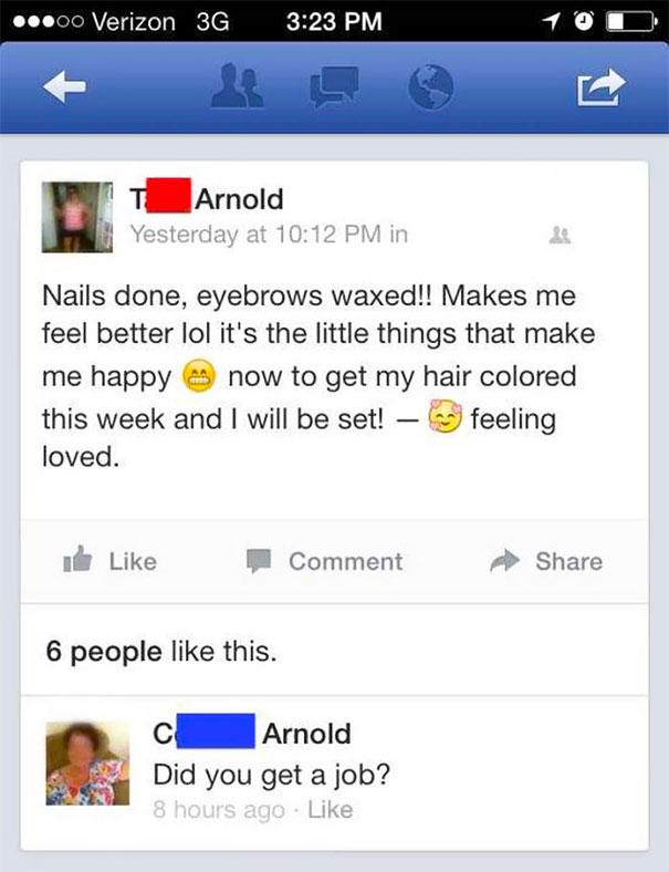 24個為何你「千萬不能讓爸媽加臉書」的超爆笑案例。#11 網友「我想X你媽」媽媽秒回覆!