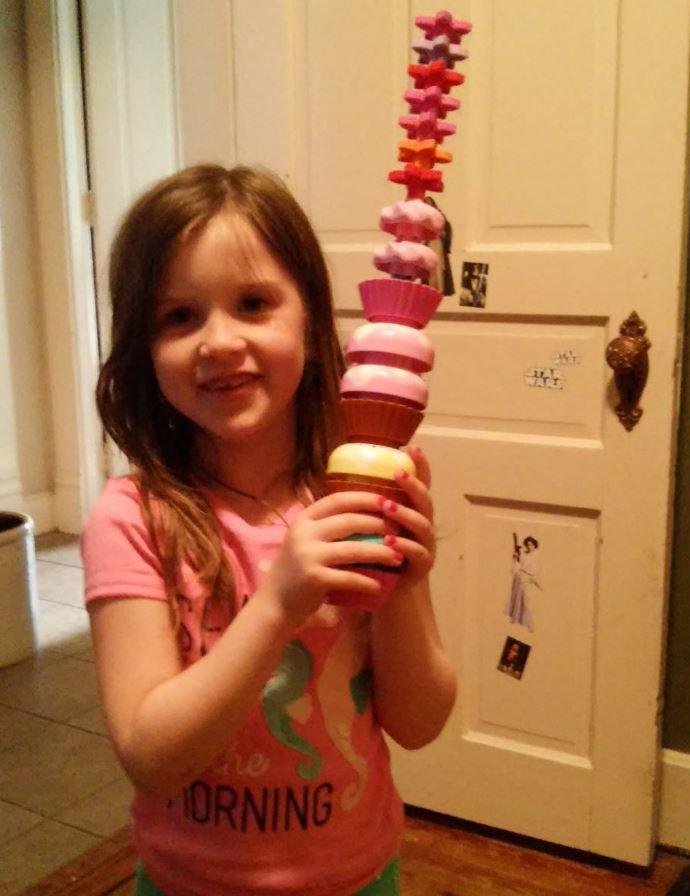 26則證明養女兒會被玩死的4個女兒的爸「爆笑親子對話」。#26妹妹怎麼硬硬的...