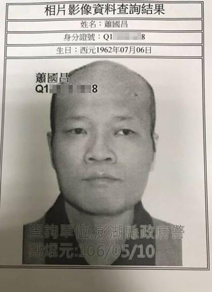 「假釋性侵犯」蕭國昌逃跑已落網,當年寫「迷姦計劃書」連弟媳胞妹也不放過!
