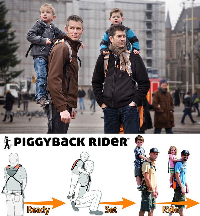 The Piggyback Rider Standing Child Carrier