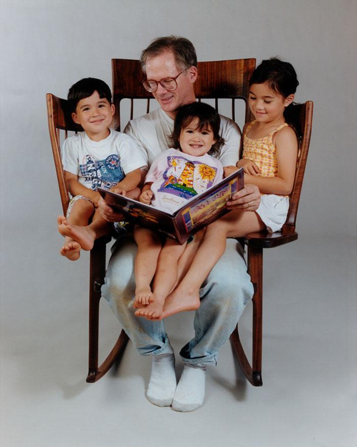 Triple Rocking Chair