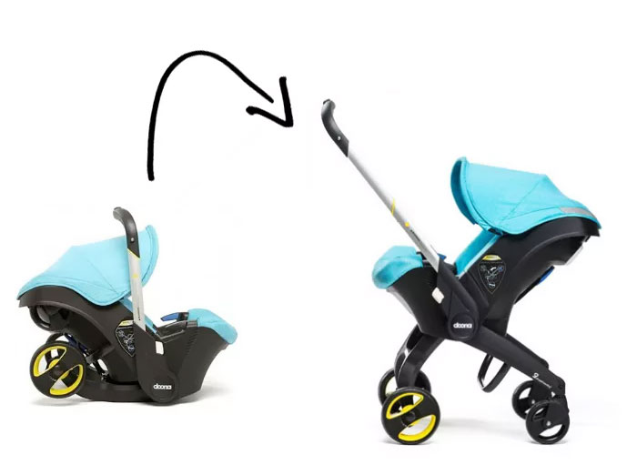 Doona Infant Car Seat & Base