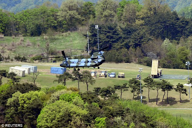 China has repeatedly expressed its opposition to the system, whose powerful radar it fears could reach inside Chinese territory. Foreign Ministry spokesman Geng Shuang again denounced THAAD on Tuesday