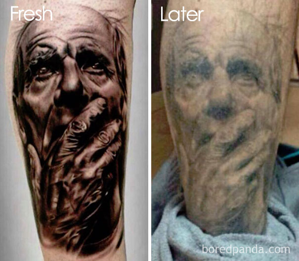 30種刺青幾年後的「前後對比照」刺另一半名字沒分手也超尷尬