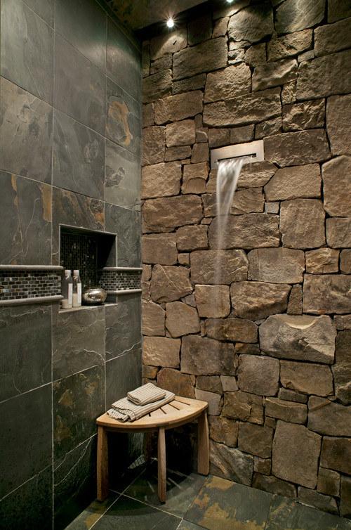 17個會讓你想把家裡淋浴間打爆的「美到爆炸淋浴間」。#6 小公寓超適合!