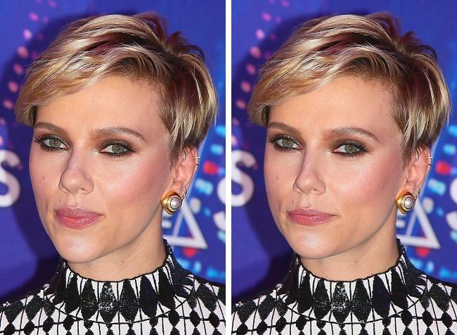 11張好萊塢明星「招牌特徵PS掉」前後照,證明自然才是最美!#2 超模卡拉粗眉毛變細後「變平民」!