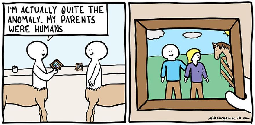 30張你不敢承認看得懂的「超黑暗」黑色幽默漫畫。