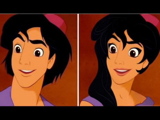 32張會顛覆你對迪士尼人物記憶的「角色性別顛倒」圖片!#28 鐘樓怪人好突破...