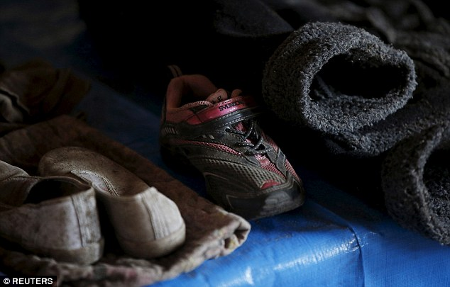 The shoe his daughter was wearing the day she drowned in the tsunami