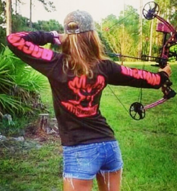 z1 bow arrow archery girls 600 5 Pull and release with some archery girls (54 Photos)