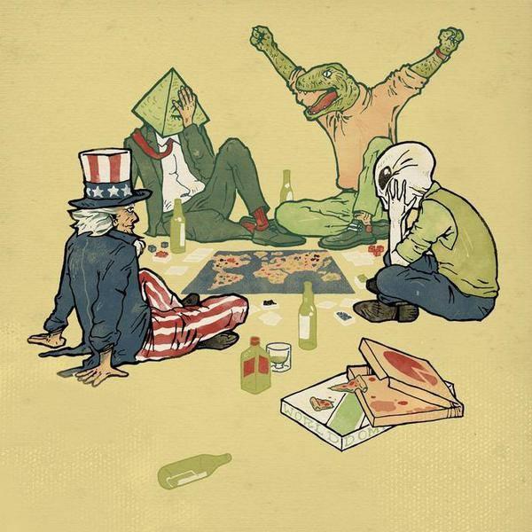 36張讓你看清社會有多變態的「社會真相插畫」,國家獨立了你也沒自由!