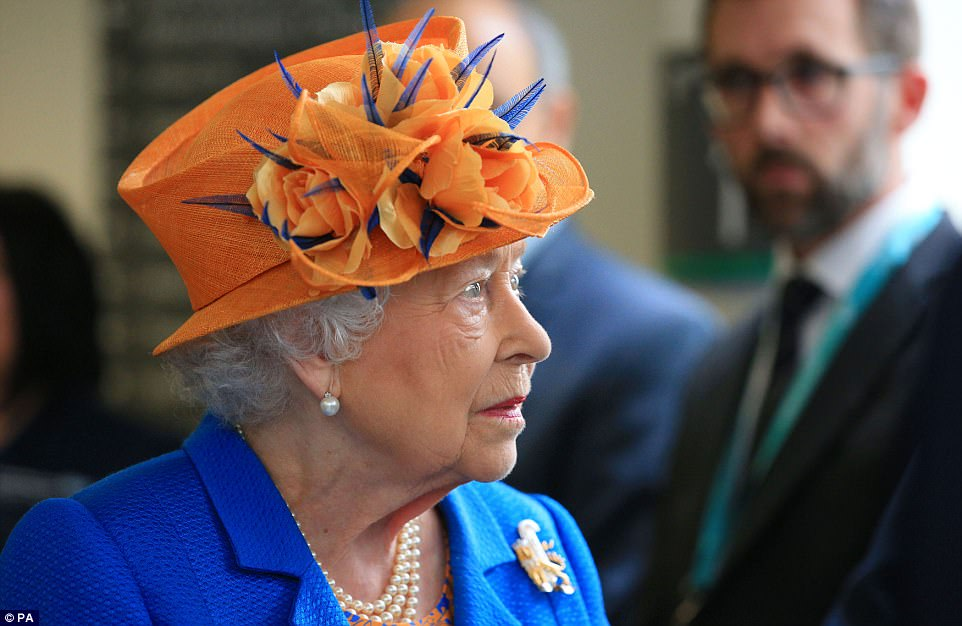 The Queen visited the hospital in a show of solidarity for the survivors, and those who battled to keep them alive