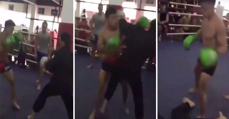 這一次武當宗師接受拳擊手挑戰,打破上次的紀錄「7秒被拳擊手KO」! (影片)
