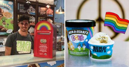 知名冰淇淋公司宣言:「如果不允許同性婚姻,就永久不許客人點2個相同口味的冰淇淋」!
