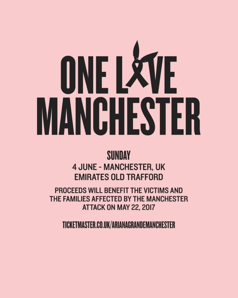 亞莉安娜在這個星期天會回到曼徹斯特開紀念演唱會,「超猛陣容」凱蒂佩芮、麥莉希拉、小賈都加入!
