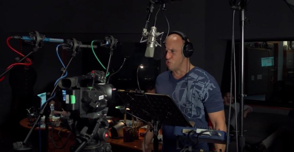 馮迪索幫「小格魯特」配音畫面曝光,本以為超簡單發現其實是「最難的」!
