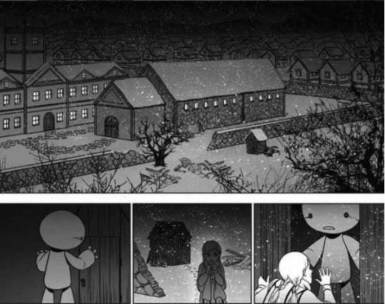 女孩撿到了村名看到就殺的惡魔,結局會讓你體會刀神切洋蔥時眼淚狂噴的滋味!