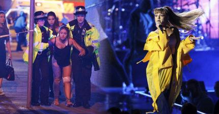 小天后亞莉安娜演唱會「恐怖攻擊」22死59傷,現場民眾拍到的影像太震撼!(傷亡人數不斷更新)
