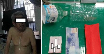 沒水沒飯吃!80歲獨居半癱翁10樓空投「千元瓶中信」求救,網友:「活該。」