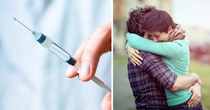 只要在你喜歡的人身上注射「這種神奇魔藥」,他就會愛上你喔!