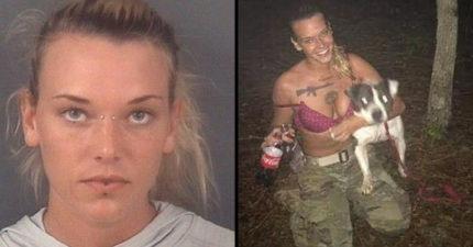 「連射5槍虐殺」心理輔導犬,女大兵出庭前9天在家自殺。