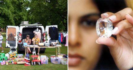 戴了30年在二手攤買的400元「塑膠」戒指,之後被被鑑定是「價值天價」鑑定師都吃驚!