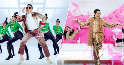 PSY最新MV《I LUV IT》出爐,美中不足的是0:35超猛客串又讓「PPAP」在腦海中重播。(1:47又一名巨星出現!)