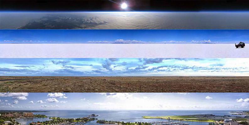 5個會讓你很難否認「地球是平的」的地平說支持者驚人證據。#3 聰明的你能解釋嗎?