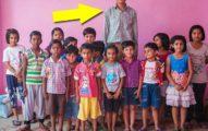 他不是老師!8歲兒童「全世界最高孩童198公分」,爸媽讓他看起來像矮人!