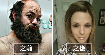 「她」原本是個粗礦的大鬍子壯漢,現在「變成了讓人會忍不住搭訕的超正美女」!