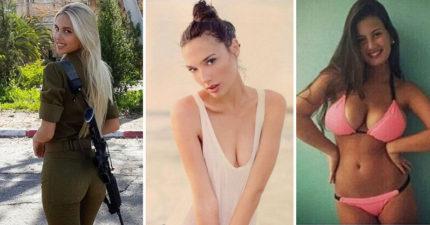 12張證明蓋兒·加朵不是最辣以色列女兵的「以色列極品女兵」。#4 炸出來了!