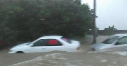 最強雨勢來襲,新北市跟苗栗縣公布「停班停課」區域!網友上傳三芝影片「 已看不見車子」! (陸續更新)