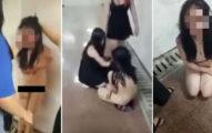 16歲少女找同學幫忙,把三角戀情敵「脫光後凌虐」還拍片上網分享!(影片慎入)