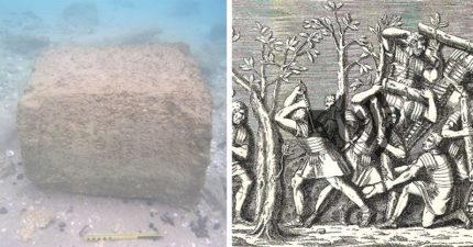 海裡找到的1800年前石碑刻了「這個名字」,《聖經》記載的內容被證實了!