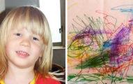 自閉症男孩幾年前就繪畫「暗藏死亡徵兆」,「準確死亡畫面」父親:像聖人一樣犧牲自己!