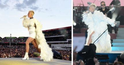 凱蒂佩芮參加「曼徹斯特慈善演唱會」,但沒有人發現「藏在白色羽毛下」的超噴淚真相!