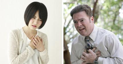 「胸口悶悶痛痛」快心臟病了?!用這個測試方法就知道是不是!