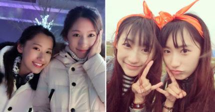 中國「最美雙胞胎姐妹花」!哈佛只讀1年就畢業「高顏值+逆天細長美腿」網爆紅!(13張)