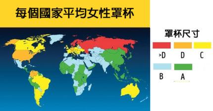 18個會讓你更愛這地球的「驚人知識世界地圖」!#10 台灣IQ跟全世界比...