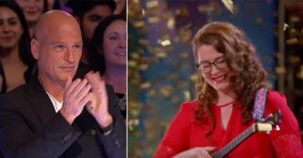 聽障女子上台「靠記憶唱歌」讓所有人噴淚,毒舌評審沒給評語直接拍下「黃金鈕」!