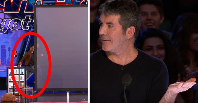 他上台透露父母很痛恨他的才華,他一跑到螢幕後面「分裂」...哈利波特世界是真的!