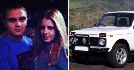 年輕情侶的車子「掉進湖裡」兩人淹死,警方:「是抽插太激烈..」