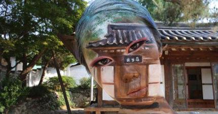 32張化妝師用自己的臉做出超的「把你打腦弄爆」視覺錯亂藝術妝!