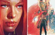 32張會讓你對電影海豹改觀的「手畫版」電影海報!#32 《復仇者聯盟》超帥!
