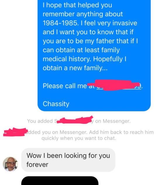 黑人女子長期被單親媽媽厭惡「決定驗DNA」竟有這麼多歐洲血統!有天她傳簡訊給長得像爸爸的人...